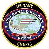 KB NEW CHOKIN シリーズ マグネット 空母ロナルド・レーガン 米海軍横須賀基地 完成品