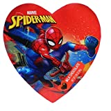 バレンタイン 限定 MARVEL【 GALERIE × スパイダーマン ハート型缶入り ミルクチョコレート/マーベル 】 [並行輸入品]
