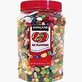 カークランド:ジェリーベリー45フレーバー  Kirkland Jelly Belly 45 Flavors in Jar