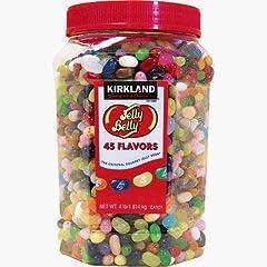 カークランド ジェリーベリー45フレーバー  Kirkland Jelly Belly 45 Flavors in Jar 海外直送