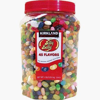 カークランド:ジェリーベリー45フレーバー  Kirkland Jelly ...