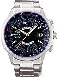 [オリエント]ORIENT 腕時計 自動巻 万年カレンダー ネイビー 海外モデル 国内メーカー保証付きSEU07008DX メンズ