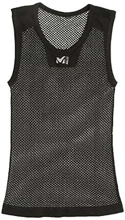 (ミレー)Millet DRYNAMIC MESH NS CREW MIV01248 0247 BLACK - NOIR L/XL(EUサイズ)