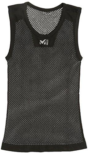 (ミレー)Millet DRYNAMIC MESH NS CREW MIV01248 0247 BLACK - NOIR S/M (EUサイズ)