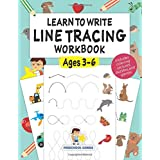 Learn to Write Line Tracing Workbook - Ages 3-6: Pen control, handwriting, and drawing practices for kindergarten toddlers an