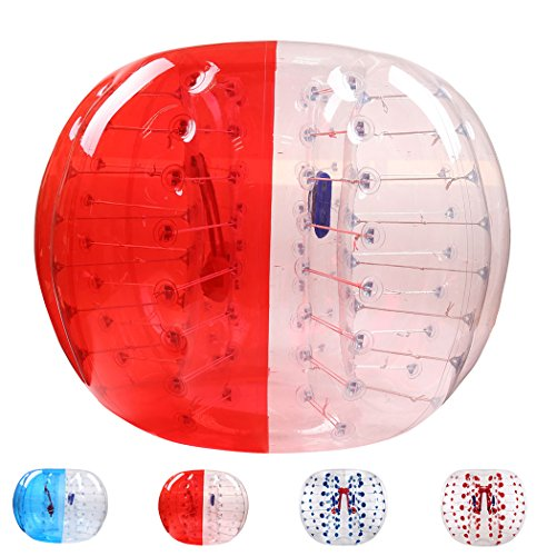バブルサッカー直径5'(1.5m)人類ハムスタ一ボール、バブルボール、バンパ...