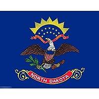 国旗 アメリカ ノースダコタ州 州旗 特大フラッグ【ノーブランド品】