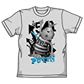 ウサビッチ プーチングラフィックTシャツ ミックスグレー サイズ:M