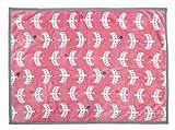 丸眞 ハーフケット 北欧風パターン 100×140cm カモメパターン 0295085000