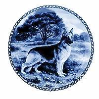 デンマーク製 ドッグ・プレート (犬の絵皿) 直輸入! German Shepherd Dog / ジャーマン・シェパード・ドッグ