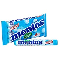 (Mentos (メントス)) ミント菓子4×38グラム (x4) - Mentos Mint Sweets 4 x 38g (Pack of 4) [並行輸入品]