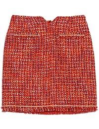 [リリーブラウン] ツイード台形スカート LWFS185145 LWFS185145 レディース