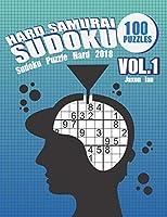Hard Samurai Sudoku 100 Puzzles Vol.1: Sudoku Puzzle Hard 2018 (Sudoku Puzzle Books Hard)