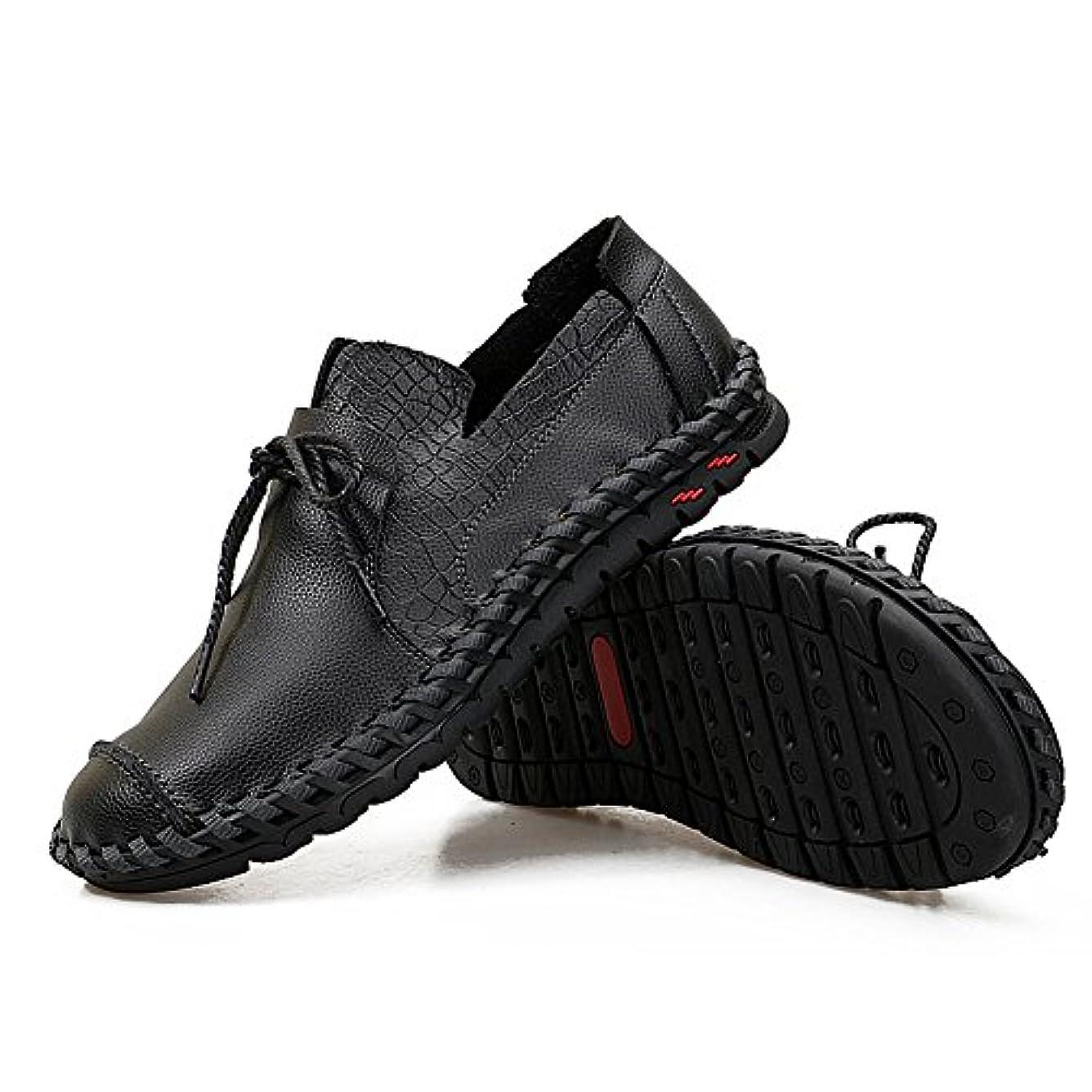 たらい抗生物質私Z.SUO メンズ カジュアルシューズ デッキシューズ 革靴 ワークブーツ オックスフォードの靴 カジュアルシューズ ファッションスニーカー レースアップシューズ 通勤用 防滑