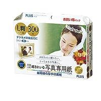 プラス 写真用紙 超きれいな写真専用紙 L判 300枚入 IT-300L-PP 46093
