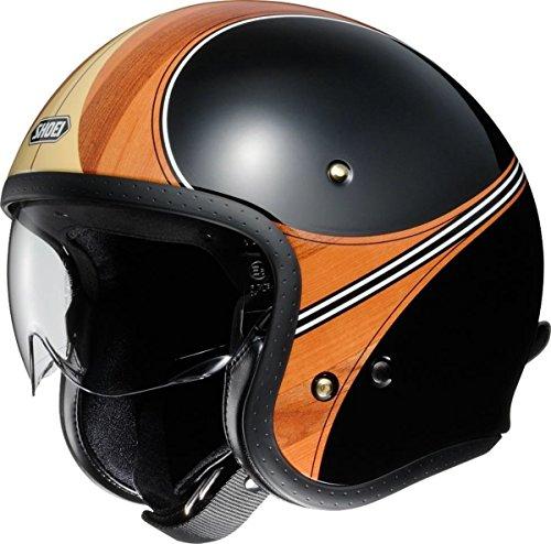 ショウエイ(SHOEI) バイクヘルメット ジェット J・O  WAIMEA(ワイメア) TC-10 (BROWN/BLACK) L (59cm) -