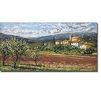 Hillside Olives by Malcolm Surridgeプレミアムギャラリー‐ Gicleeアート(ready-to-hang)