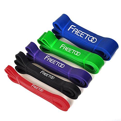 FREETOO フィットネスチューブ スーパーハード トレーニングチューブ レギュラータイプ 機器 男性 筋力トレーニング リフティング筋肉