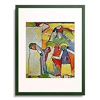 ワシリー・カンディンスキー Wassily Kandinsky Vassily Kandinsky 「Improvisation 6 (Afrikanisches). 1909」 額装アート作品