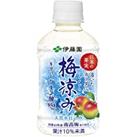 伊藤園 日本の果実 梅涼み 280g×24本