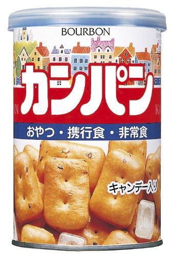 [재해재난 대비용 보존식 생존백 필수품 건빵] 브루봉 관입 캄파니아(Kampaniya) 100g×24개-