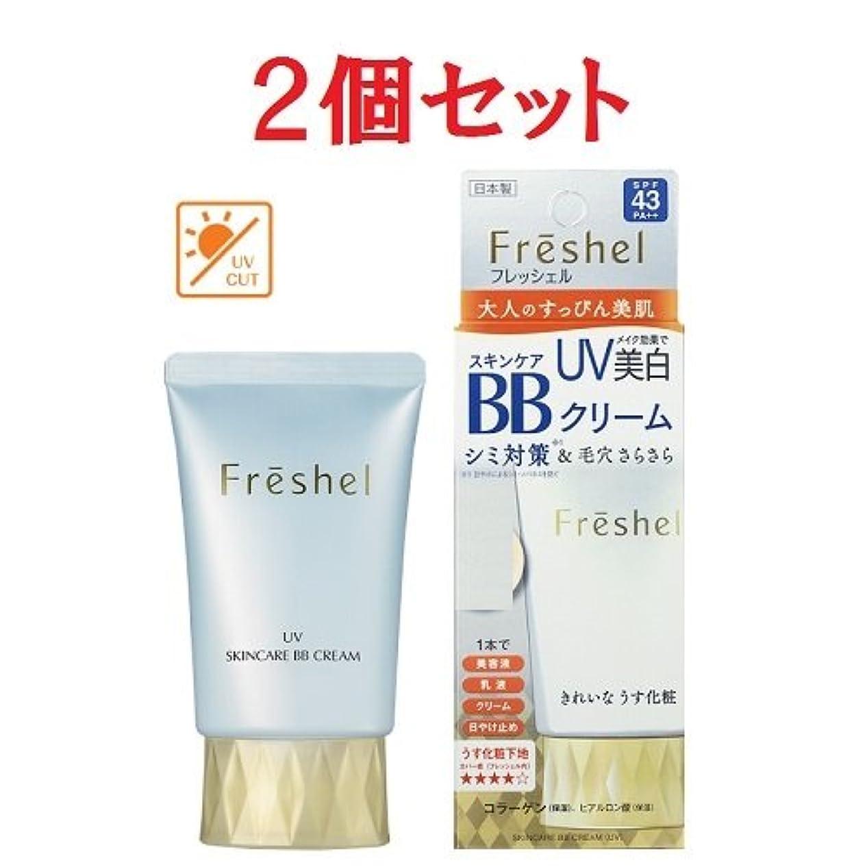 アレルギー刺激する放棄された2個セット フレッシェル スキンケア BBクリーム UV 50g NB