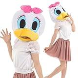 ハロウィン ディズニー 着ぐるみ フェイスマスク 衣装 コスプレ コスチューム 衣装 仮装 Disney レディース メンズ フリーサイズ (デイジー)