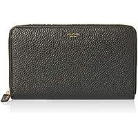 Oroton Women's Avalon Large Zip Around Wallet, Black, One Size
