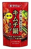 ダイショー キムチ鍋スープ 750g × 5個