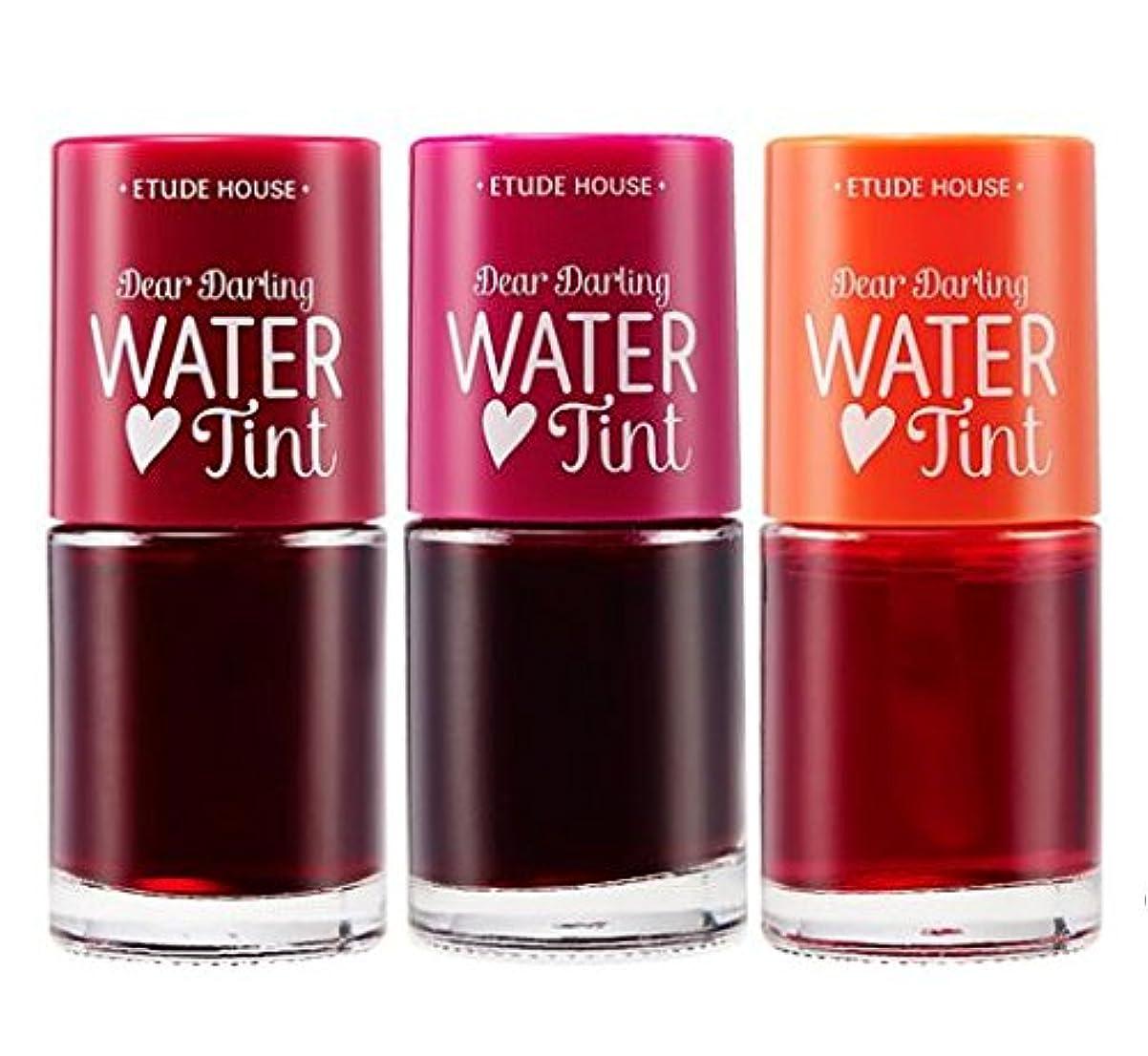 同僚健全接辞[エチュードハウス] ETUDE HOUSE dear darling water tint ディア ダーリン ウォーター ティント3個セット [並行輸入品]