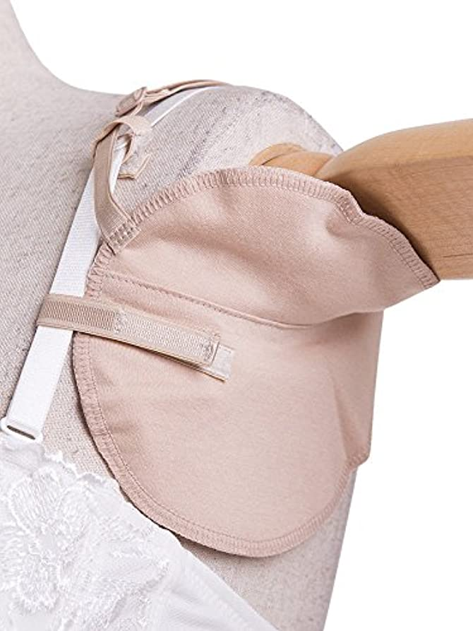 メルボルン露出度の高いモニカ脇汗パット ワキ汗パッド 汗じみ防止 汗取り吸収 ブラに取り付けタイプ