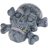 【ノーブランド品】音&光 ヘビー スモーカー 頭蓋骨 ハロウィーン 装飾 おもちゃ パーティー スケルトン アクセサリー