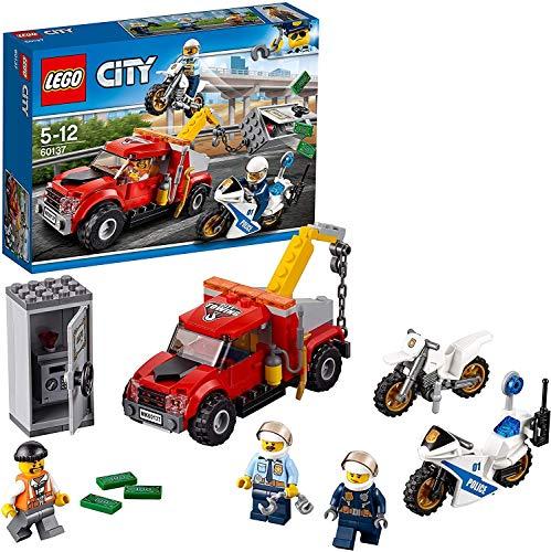 シティ 60137 金庫ドロボウのレッカー車