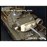 現用イギリスセンチュリオンMk5/1用  AFV 35100キット対応 [PE35110] 1/35 Centurion MK 5/1 Basic (For AFV 35100)