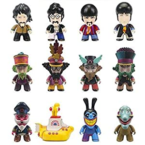 The Beatles Titans Yellow Submarine Blind Box Vinyl Figure Standard [並行輸入品]