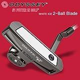 オデッセイ ゴルフ WHITE ICE 2 Ball Blade ホワイトアイス 2ボール ブレードパター 33インチ