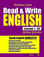 Preston Lee's Read & Write English Lesson 1 - 20 Global Edition