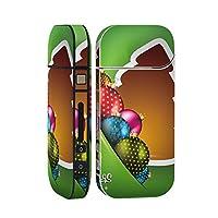 スマコレ IQOS 2.4 Plus 専用 シール 全面 ケース おしゃれ 全面ケース 保護 ステッカー デコ アクセサリー デザイン その他 ツリー クリスマス 005481