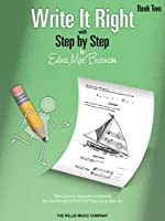 Write It Right with Step by Step Book 2