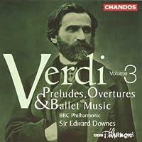 Verdi;V.3 Complete Preludes/Ov