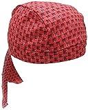 LAPCO DU RAG RED SQUARE BANDANA CAP(ドゥーラグ バンダナキャップ) [並行輸入品]