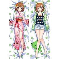 御坂 美琴 カスタム 抱き枕カバー 両面プリント 2WAYトリコット アニメ 漫画 160x50cm