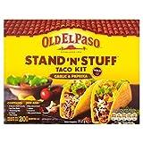 古いエルパソスタンド&スタッフタコスキット317グラム - Old El Paso Stand & Stuff Taco Kit 317g [並行輸入品]