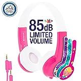 【正規代理店品】Onanoff BuddyPhones Explore (子供の耳にやさしい音量制限構造)BP-EX (ピンク)