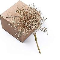 10個入り多色木の家の装飾DIYのギフトのための装飾的な花の花輪の結婚式の花瓶が人工植物をボックス (10)