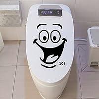 Tovadoo ウォールステッカー 笑顔 おもしろい トイレ 部屋 レストラン リビング ファッション おしゃれ インテリア リフォーム 模様替え
