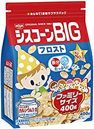 日清シスコ シスコーンBIGフロストファミリーサイズ 400g×6袋