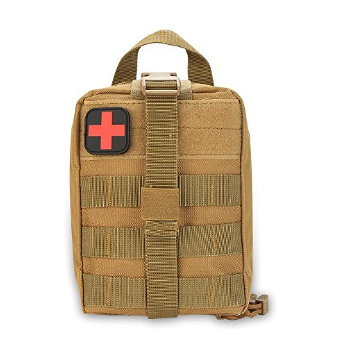 テニス異議の中でメディカルポーチ 医療バッグ 緊急ポーチ サバイバルバッグ ミリタリーポーチ 軽量 多機能 600Dオックスフォード 登山 防災用 応急処置バッグ