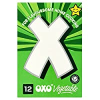 OXO Stock Cubes Vegetable (12x6g) オキソ株式キューブ野菜( 12X6G )
