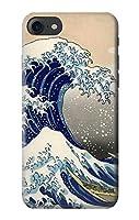JP2389IP8 葛飾北斎 神奈川沖浪裏 Katsushika Hokusai The Great Wave off Kanagawa IPHONE 8 ケース